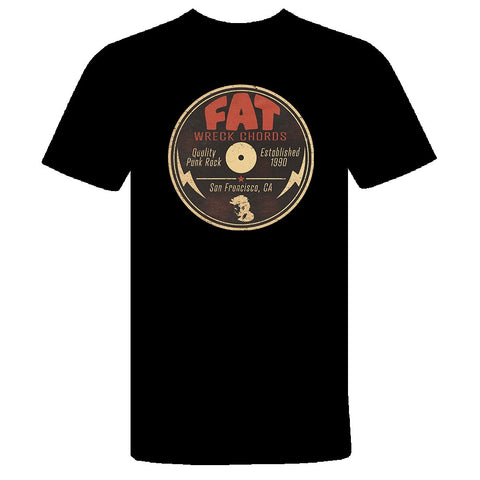 Fat Logo Reimagined T-Shirt (LP Center Label)