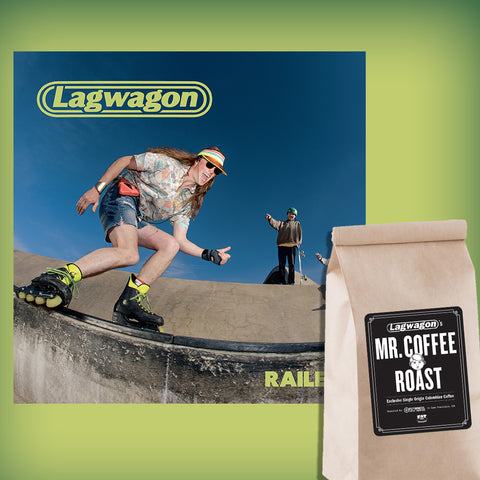 Lagwagon - Railer COLOR VINYL + COFFEE BUNDLE