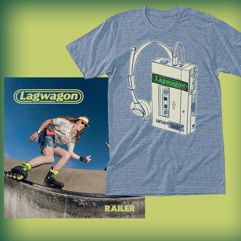 Lagwagon - Railer Color Vinyl + T-shirt Bundle