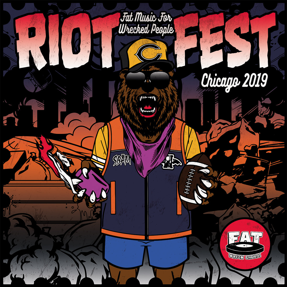 Fat Music For Wrecked People: Riot Fest 2019