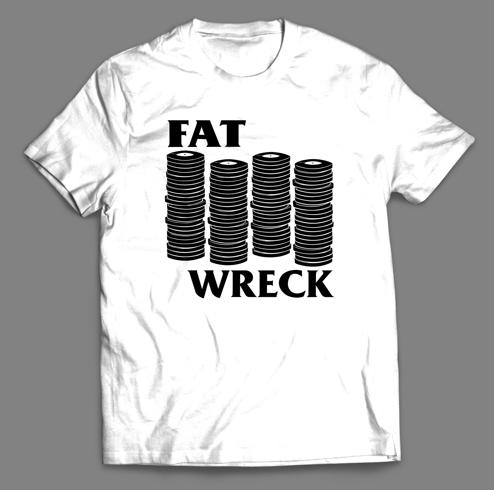 Fat Logo Reimagined T-Shirt (FAT FLAG)