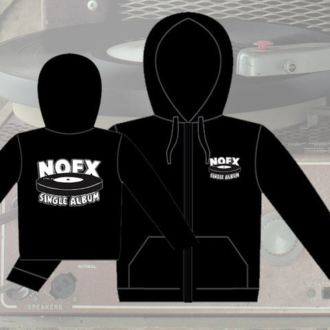 NOFX 'Single Album' Logo HOODIE