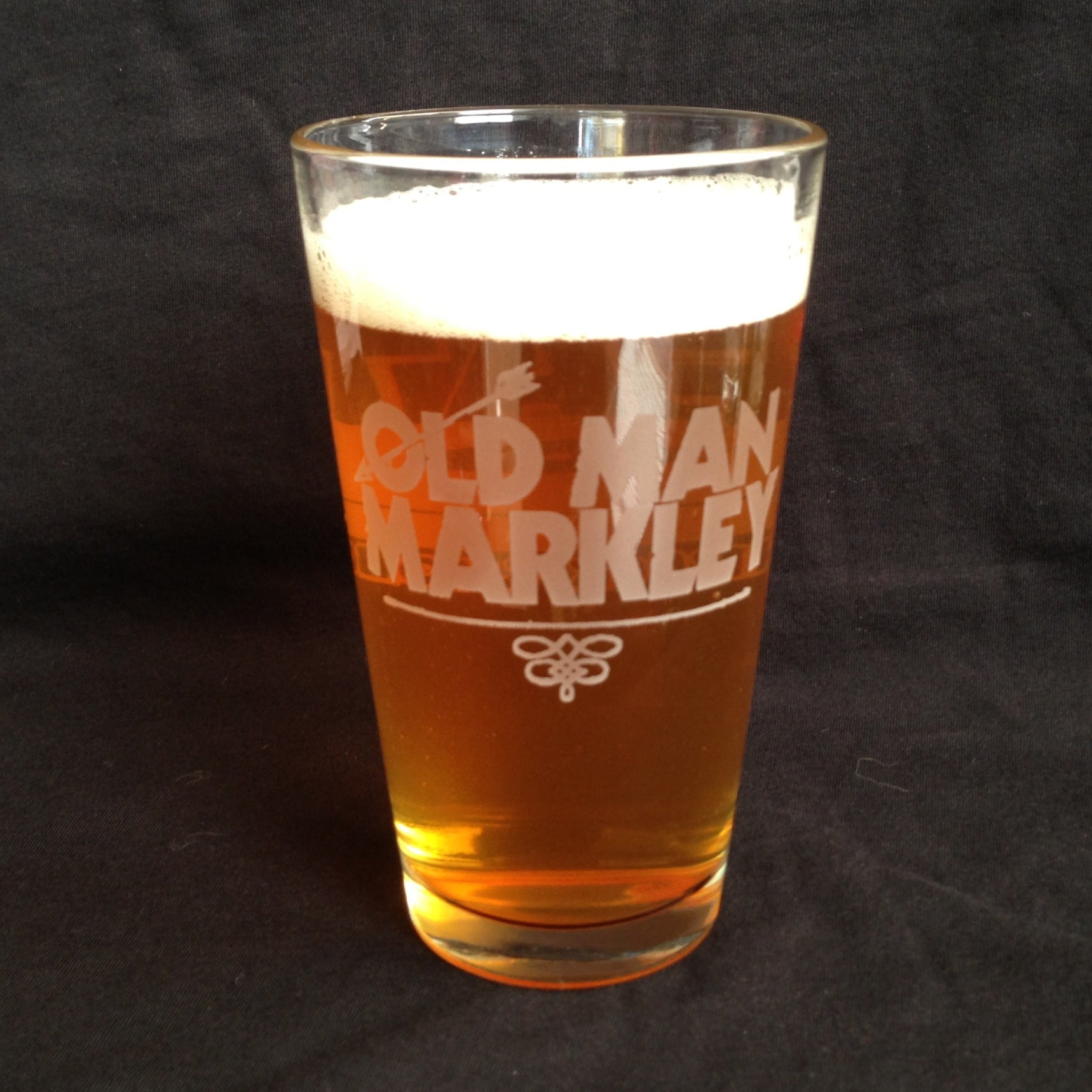 OLD MAN MARKLEY Pint Glass