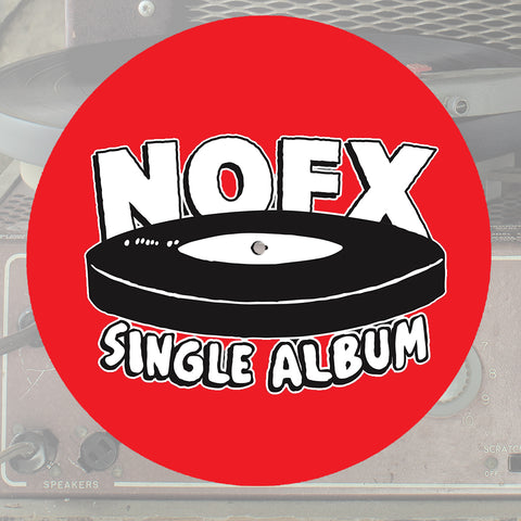 NOFX 'Single Album' SLIPMAT