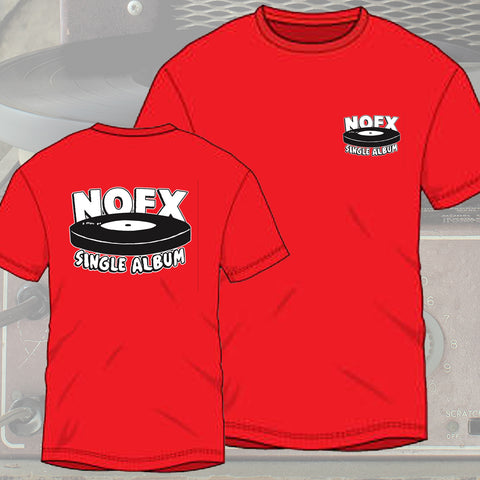 NOFX 'Single Album' Logo T-Shirt
