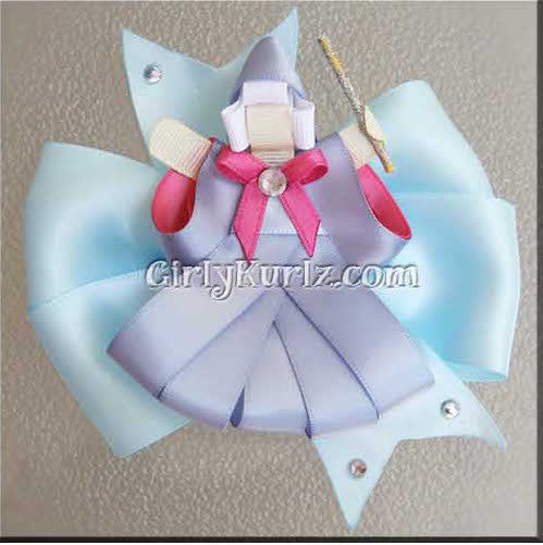 fairy godmother hair bow