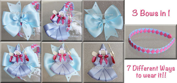 fairy godmother headband hair bow