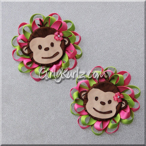 monkey hair bow