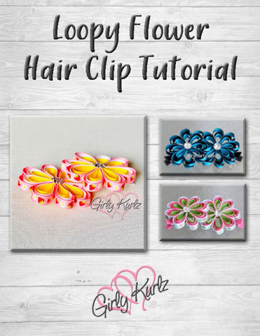 hair bow tutorial, DIY, hair accessories, how to