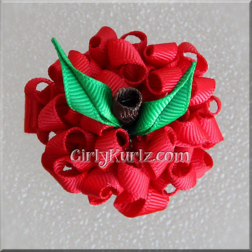 MINI Apple Hair Bow