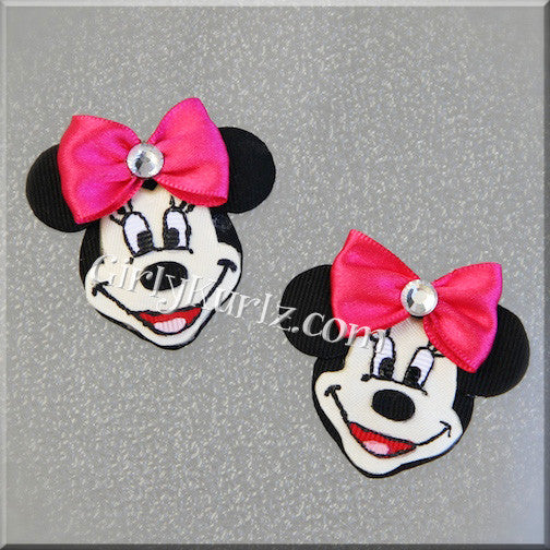 minnie mouse hair bow
