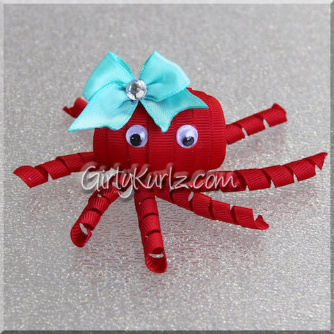 octopus hair bow