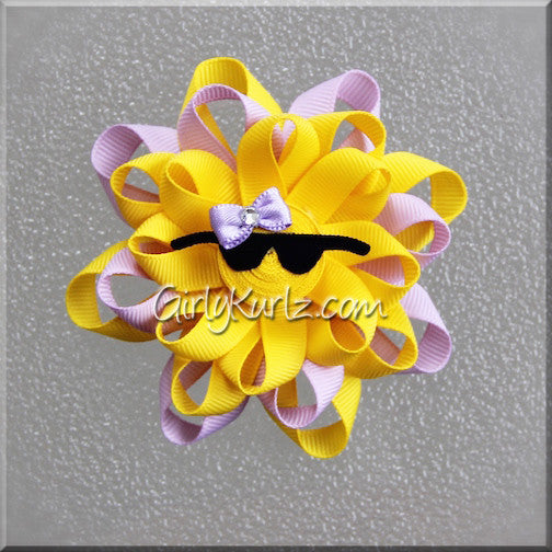 LAVENDER Sun Hair Bow
