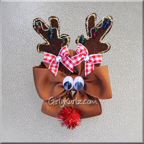 Reindeer Hair Bow