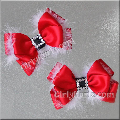 a80559427e4c8 Santa Baby LG Layered Hair Bow – Girly Kurlz