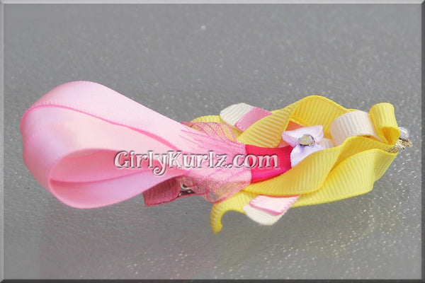 sleeping beauty hair clip