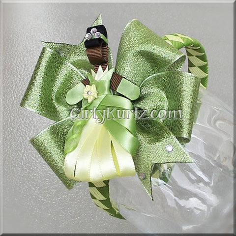 tiana headband hair bow