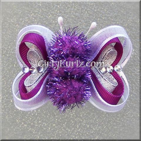butterfly hair bow