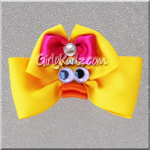 ducky hair bow