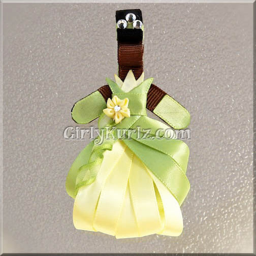 princess tiana hair bow