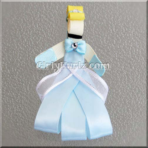 cinderella ribbon sculpture