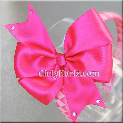sleeping beauty headband hair bow
