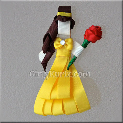 Beauty and the Beast Hair Clip