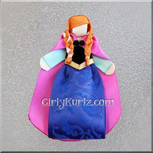 princess anna hair bow