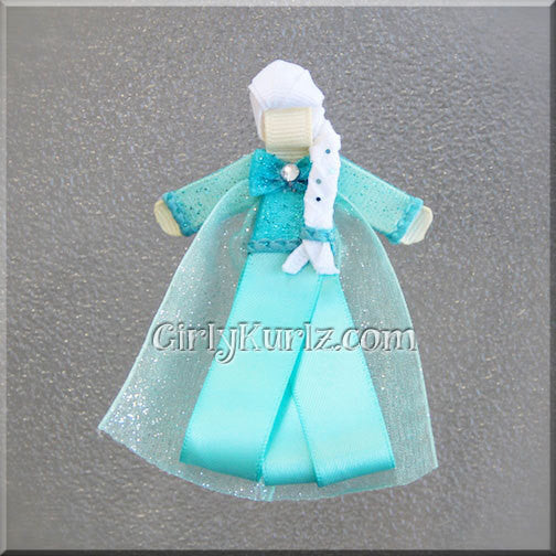 elsa ribbon sculpture