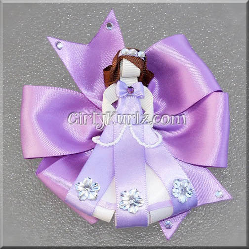 sofia the first hair bow