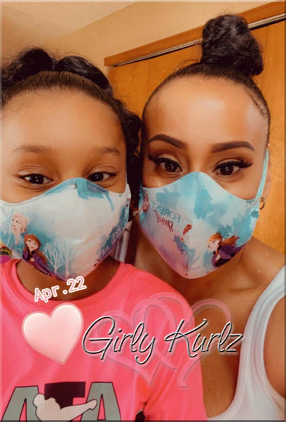 Face Mask, Face Mask with Filter Pocket, face mask for adults and children