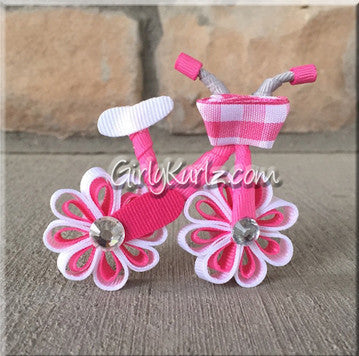 bicycle hair bow