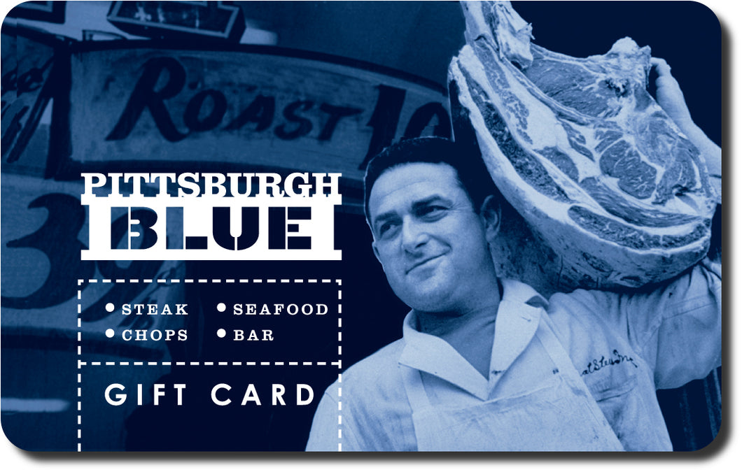 Pittsburgh Blue Gift Card