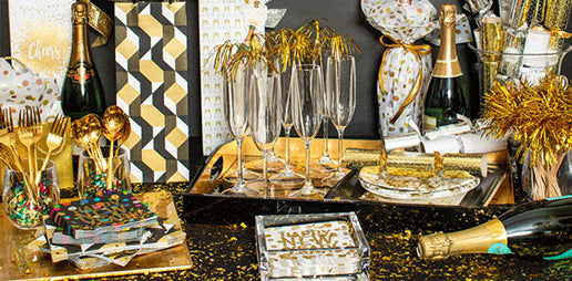 NYE Bar & Bar Cart Styling Tips