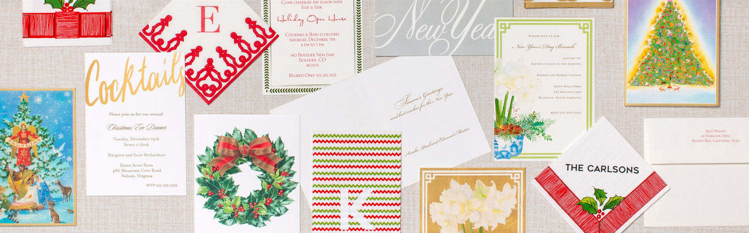 2019 White House Christmas Card.Official Caspari Lovely Tabletop Stationery Gifts For