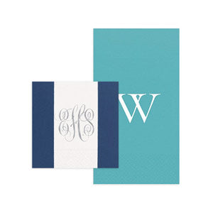 Monogram and Initial Napkins