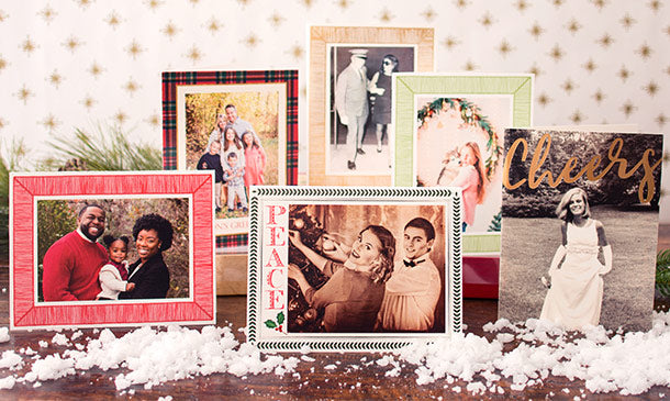 Caspari Holiday Digital Photo Cards