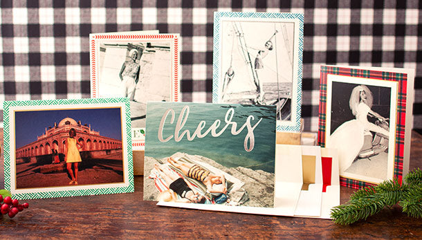 Beautifully Designed & Printed Personalized Holiday Cards