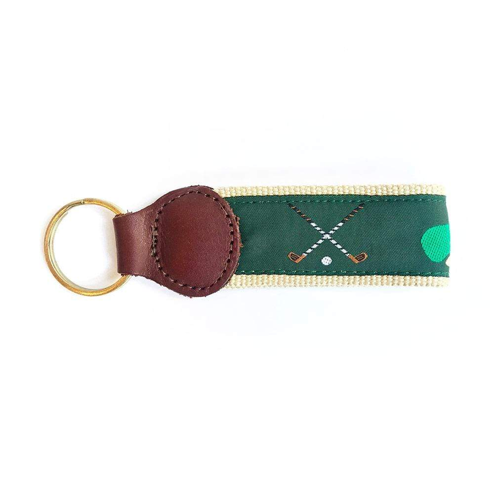 Barrons-Hunter Green Golf Key Fob - 1 Each
