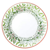 Caspari Berries and Vines Paper Dinner Plates in White - 8 Per Package