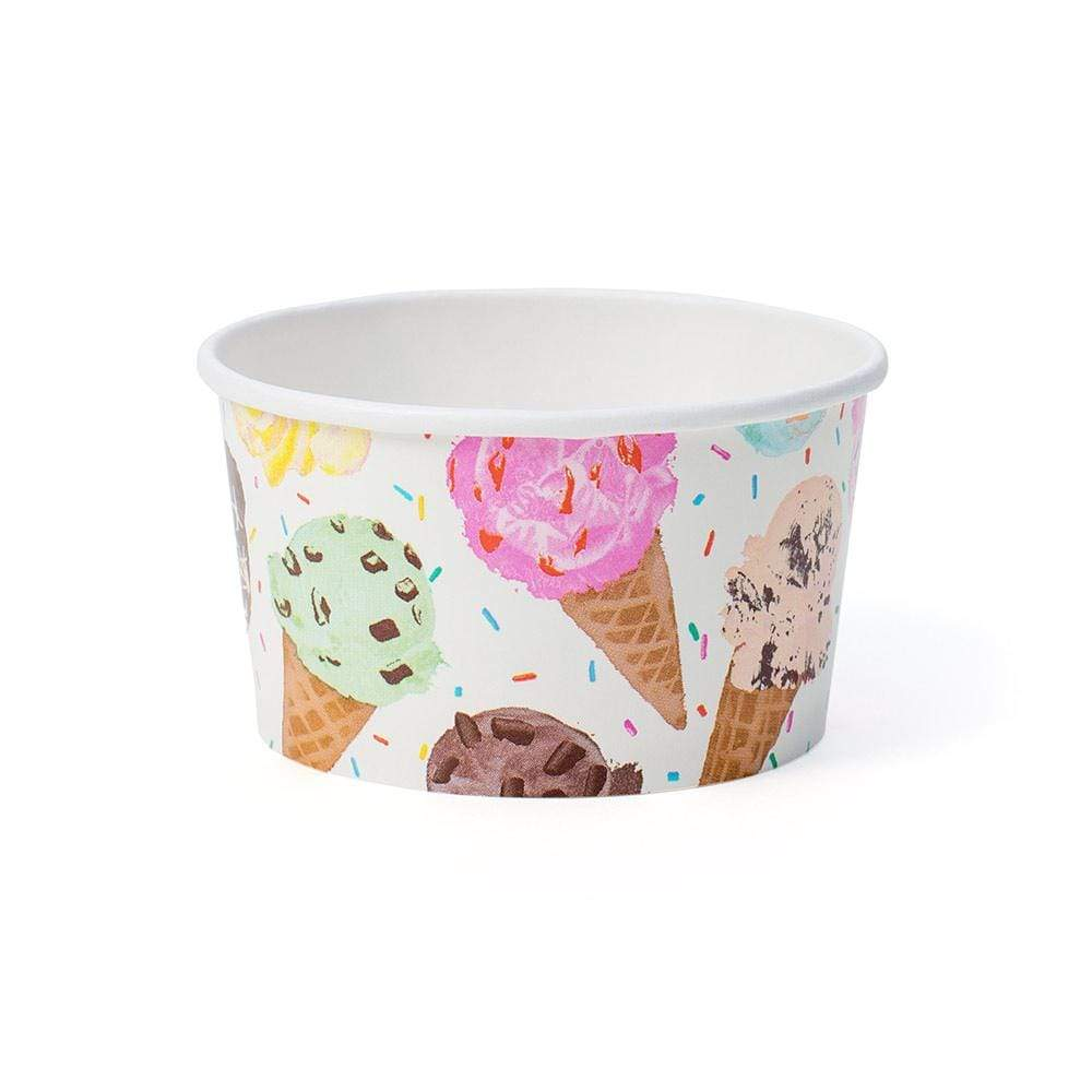 Caspari Scoop Paper Treat Cups - 8 Per Package