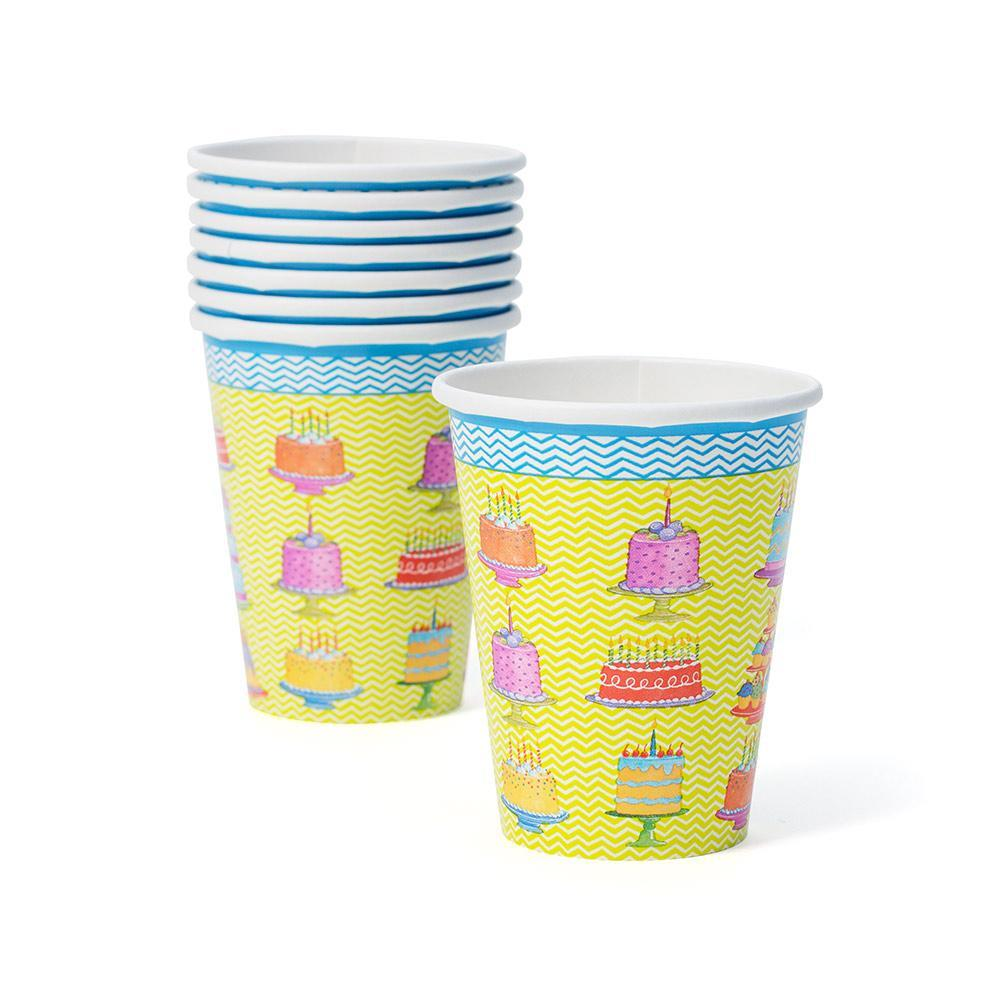 Caspari Sweet Temptations Paper Cups - 8 Per Package
