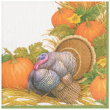 Thanksgiving Harvest Paper Dinner Napkins - 20 Per Package