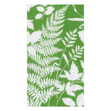 Caspari Modern Fern Paper Guest Towel Napkins in Kelly Green - 15 Per Package