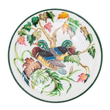 Habitat Intl Duck Hand-Painted Iron Tole Tray & Tabletop