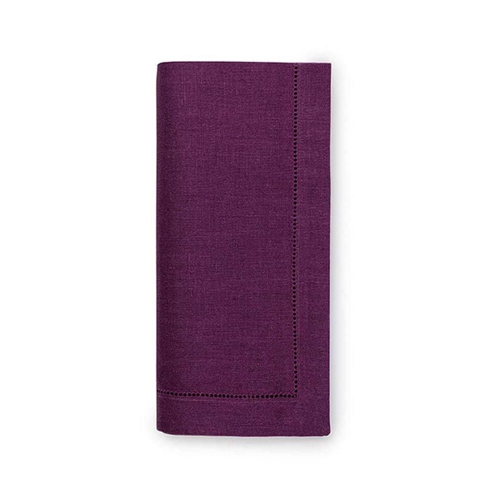Sferra Festival Cloth Dinner Napkins in Aubergine - Set of 4