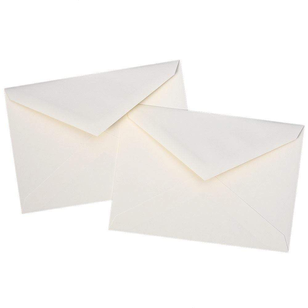Caspari Tobacco Leaf Boxed Note Cards - 8 Note Cards & 8 Envelopes