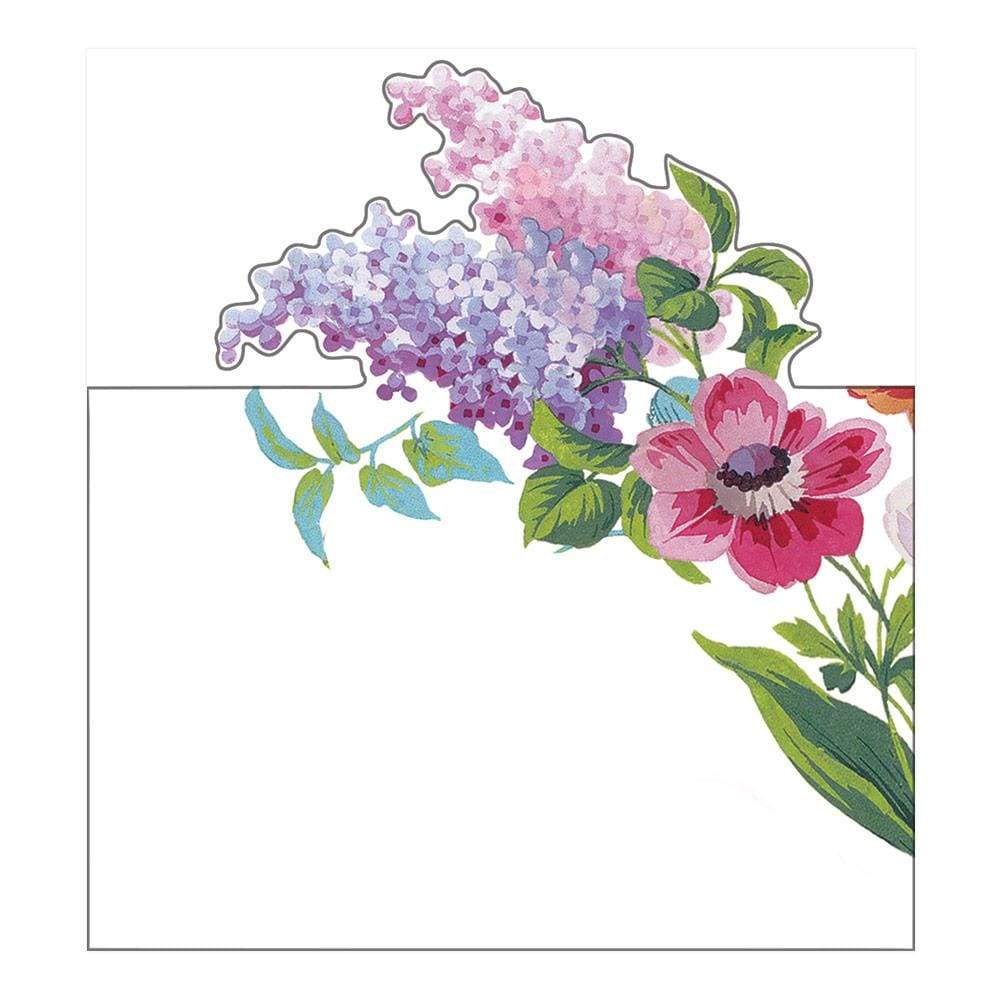 Caspari Edwardian Garden Die-Cut Place Cards - 8 Per Package