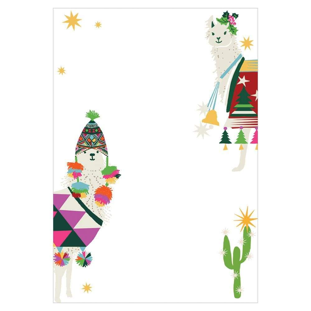 Caspari Hello Dolli Invitations - 8 Blank Invitations & 8 Envelopes