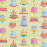 "Caspari Sweet Temptations Gift Wrap Roll - One 30"" x 5' Roll"